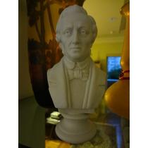 Busto De Chopin Em Biscuit Antigo Numerado