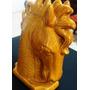 Antiga Escultura De Busto De Cavalo
