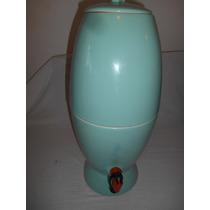 Filtro Verde De Porcelana Antigo