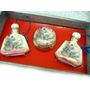 Conjunto Perfumeiro Antigo Porcelana Japonesa