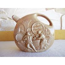 Antiga Garrafa Em Cerâmica Vinho Licoreira