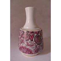 Antiguidade - Garrafa Em Porcelana Sem Tampa - Anos 60