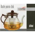 Bule Para Chá De Vidro - Casita - 650 Ml (vai Ao Fogo)