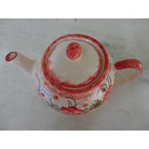 #13955 - Bule Chá Porcelana Estilo Caipira!!!