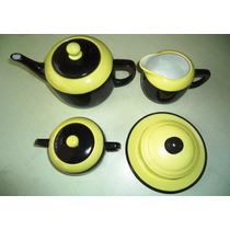 Elegante,refinado Aparelho Vintage Chá Porc.arsbohemia,déc60