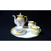 Antigo Jogo De Café / Chá Em Porcelana / Importado