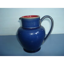 Antiga Leiteira Em Porcelana Inglesa Na Cor Azul