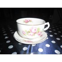 Xícara De Chá Antiga - Porcelana Inglesa Hughes Longport