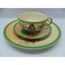 Xícara Chá Com Prato Para Bolo Japonesa Kkr