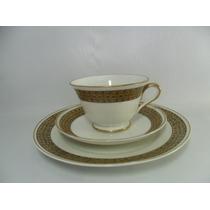 Xícara Para Chá Com Prato Para Bolo Porcelana Mauá