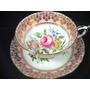 Linda E Antiga Xícara Chá Inglesa Floral Paragon Rosa !!