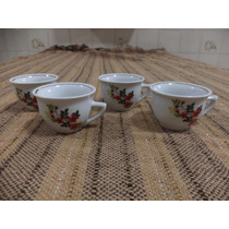4 Xícaras De Café Porcelana Pozzani