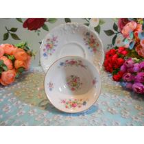 Xícara De Chá Em Porcelana Polonesa Kpm !