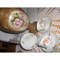 Par Xicara Café Bohemia Czechoslovakia Dec 40
