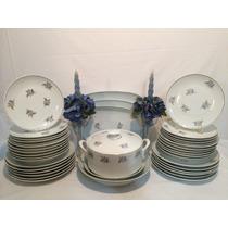 Aparelho De Jantar Em Porcelana Real Década 50/60