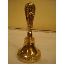 Sino -campainha - De Mesa Em Bronze - Portuguesa