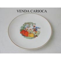 Prato Decorativo Porcelana São João Recife Cena Galante