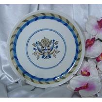 Prato Em Porcelana Portuguêsa Pintado A Mão Viana Do Castela