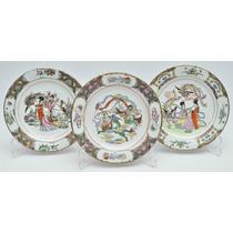 Pratos Porcelana Chinesa, Arte E Antiguidades