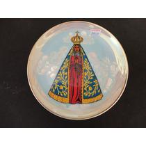 #14030 - Prato Parede Nossa Senhora Aparecida Porcelana Dd!!