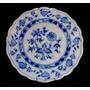 Prato Em Porcelana Blue Onion Cebolinha Marca Meissen