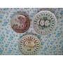 Pratos De Porcelana Importados Pintados A Mao Lindos E Raros