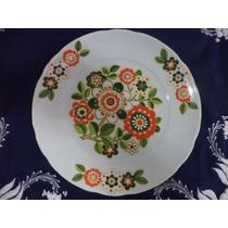 Lindo Prato Decorativo Em Porcelana