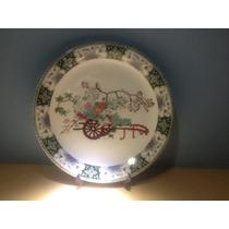 Prato Antigo Com Motivos Chineses Coleção Schmidt