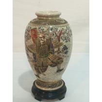 Antigo E Raro Vaso De Porcelana Satsuma - Anos 50/60