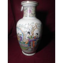 Vaso De Porcelana Chinesa Todo Craquelado