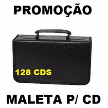 Porta Cd Dvd Bluey Corino Case P/ 128 Midias Maleta Cds