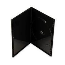Estojo Capa Box Slim Preto P/ Dvd/cd Amaray 10 Unidades