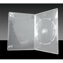 Box Dvd Slin Amaray Transparente Estojo P/ Cd E Dvd 50