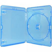 50 Box Blu-ray Azul Ou Transp. Logo Blu-ray Em Alto Relevo