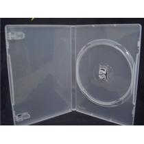 Estojo Capa Dvd Box Amaray Grosso Transparente Kit C/20 Pçs