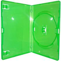 100 Estojo Box Dvd Verde Amaray Videolar Original Filme Xbox