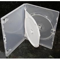 100 Capas Box Para Dvd Duplas Transparentes