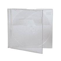 Capa / Caixinha / Estojo Cd Box Transparente 50 Unidades
