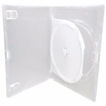Box Dvd Duplo Caixa 25 Capas Midia Dvd Transparente Amaray