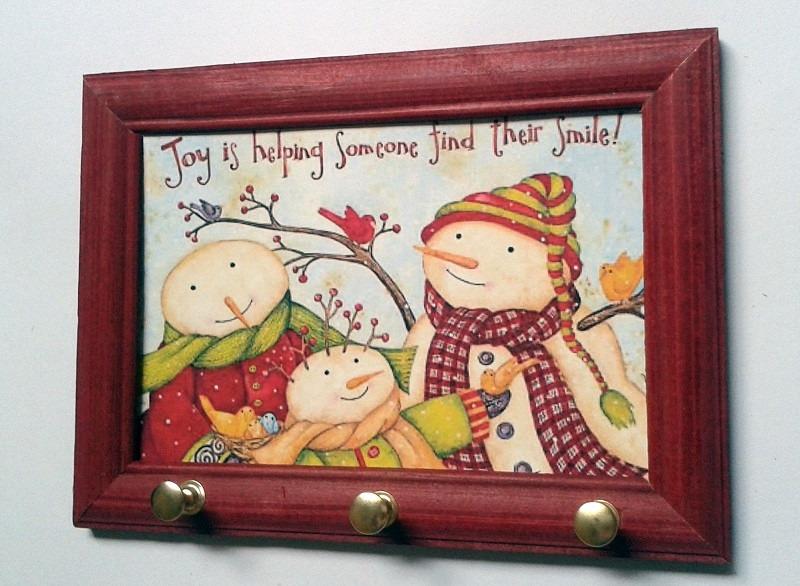 decoracao cozinha natal : decoracao cozinha natal:Porta Chave Decoração De Natal Para Cozinha Copa Escritorio – R$ 12