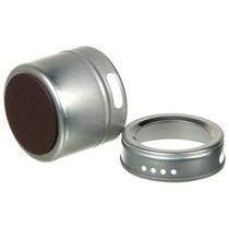Porta Tempero Magnético Aço Inox - Imantado - Pronta Entrega