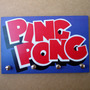 Porta Chave Placadecorativa Retrô Anos 80 Chiclete Ping Pong