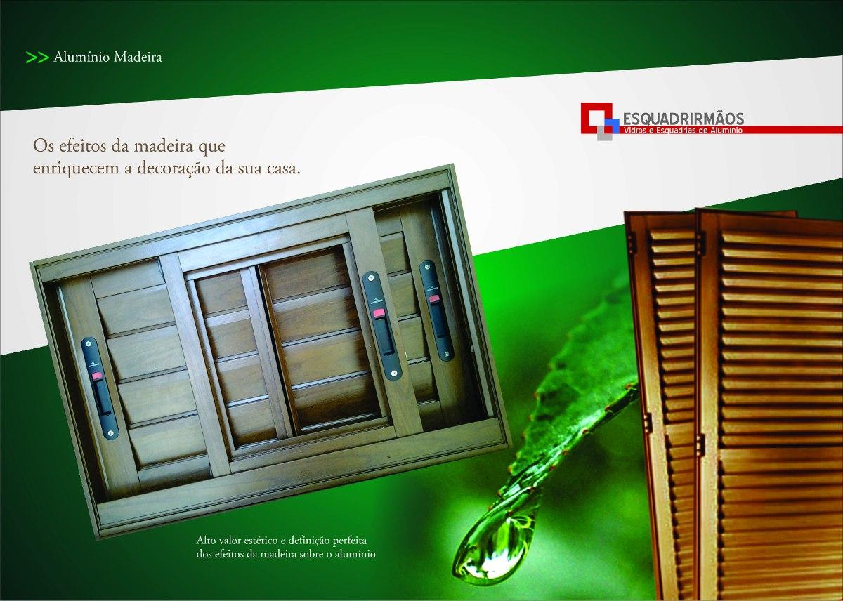 #773804 Porta Pivotante Em Alumínio Cor Amadeirado 1200x2400 R$ 3.989 00 no  1358 Preços De Janelas De Aluminio Em Joinville