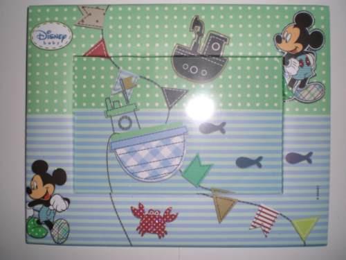 Porta-retrato Disney Mickey Baby - Mks Presentes