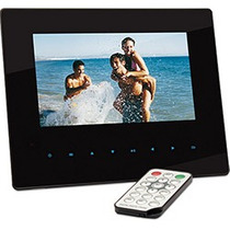 Porta-retrato Digital Slim 7 Dazz - Touch E Controle Remoto