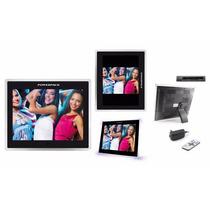 Porta Retrato Digital 15 Polegadas Full Hd Mp3 Usb C/remoto