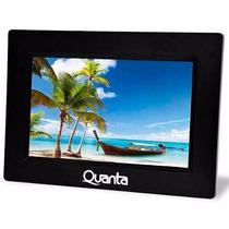 Porta Retrato Digital Quanta Qtprd 500 7 Polegadas Preto