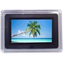 Porta Retrato Digital Tela Lcd 7 Polegadas Sd Usb + Controle