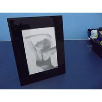 Porta Retrato Para Fotos 10x15 De Vidro - 9466