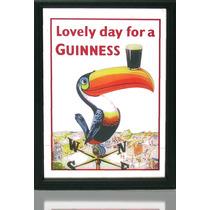 Quadro Espelho Pub Bar Cerveja Guinness Tucano Frete Gratis